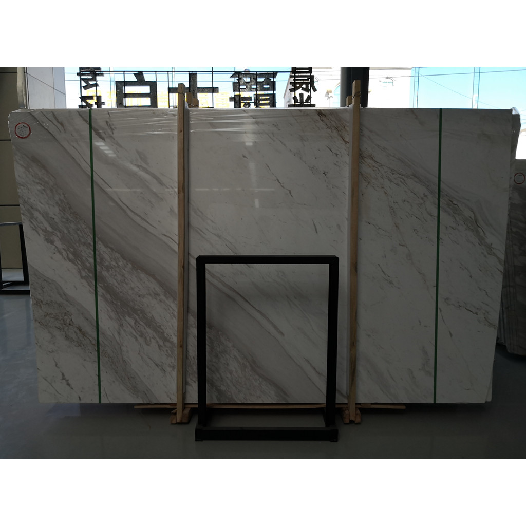 Volakas White Marble Slabs