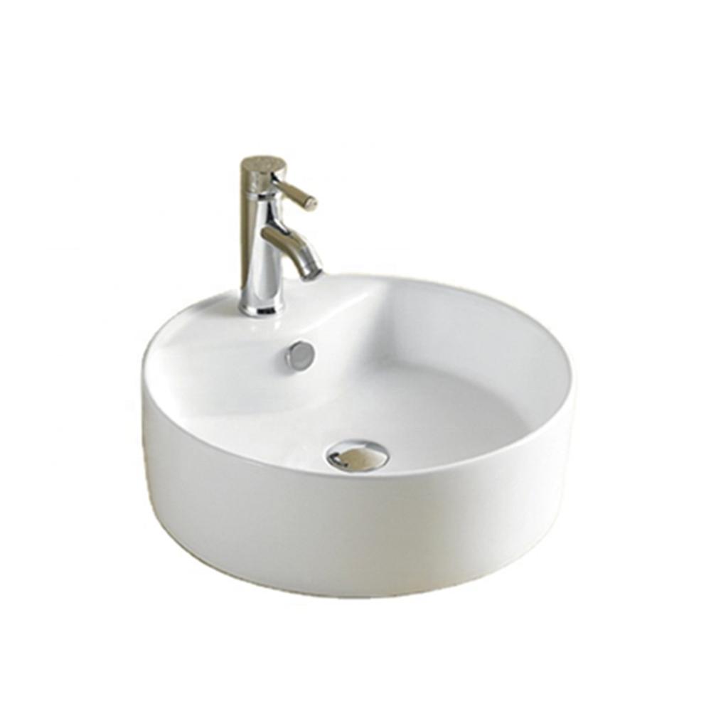 First-8002 White Luxury Designs Ceramic Lavabo Bathroom Sinks Wash Basin