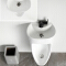 Duft Kinder Corner China Ceramic Urinal with basin
