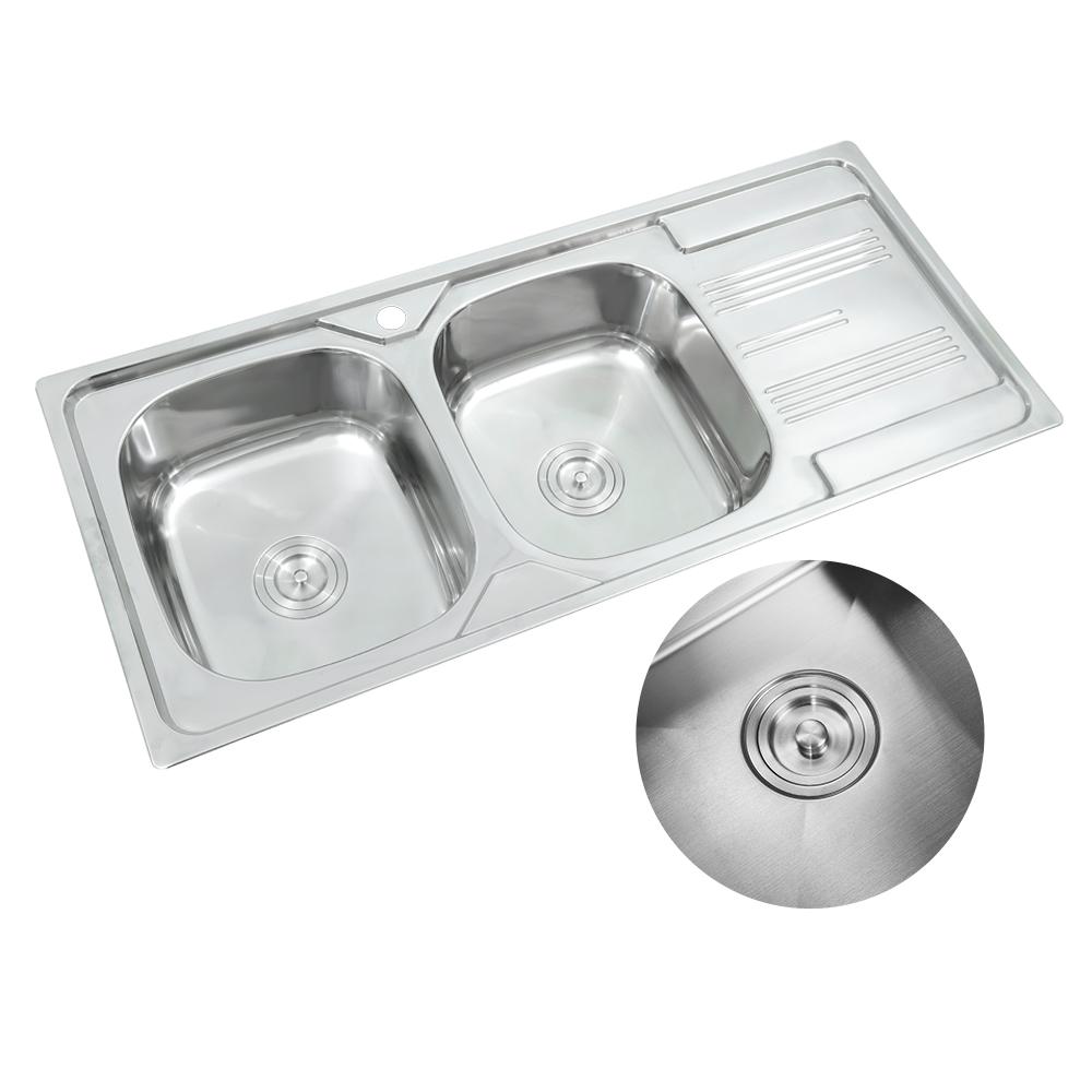 Apron Titanium Stainless Steel Sale Cross Oem Surface Kitchen Sink