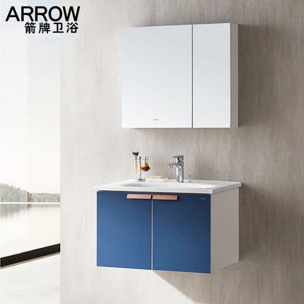 Modern Vanity Wash Basin Wooden Furniture Corner Cupboard Bathroom Vanities Wall Mirror Wood Cabinet