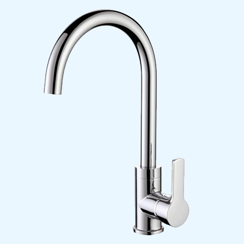 The Kitchen Water Taps Mixer Chrome Sink Faucet