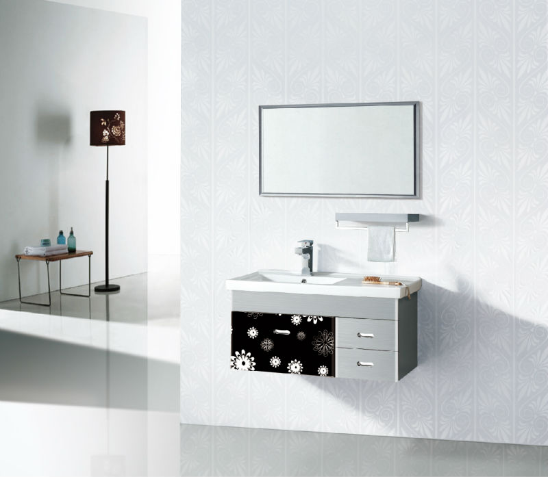 High quality bathroom cabinet toilet wash table basin cabinet