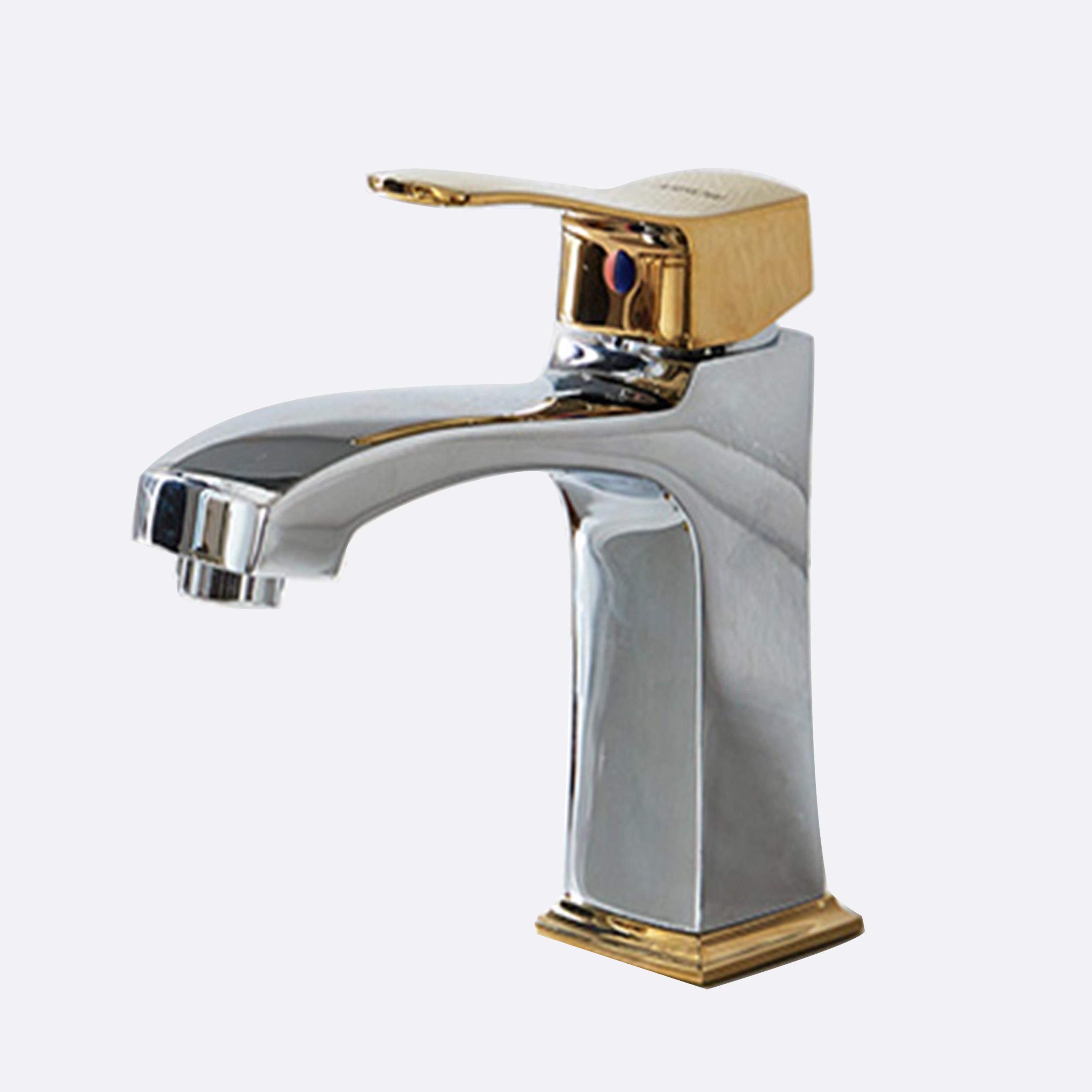 ARROW Gold Brushed High Standard Bathroom Faucet