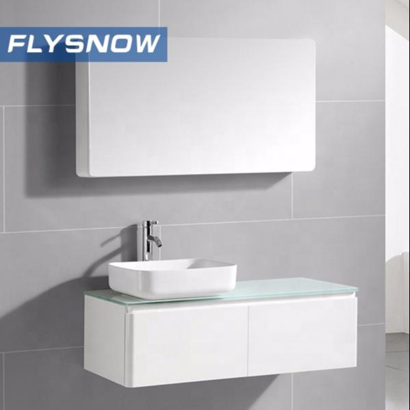 Chinese Manufactures Bathroom Wash Basin PVC Bathroom Vanities