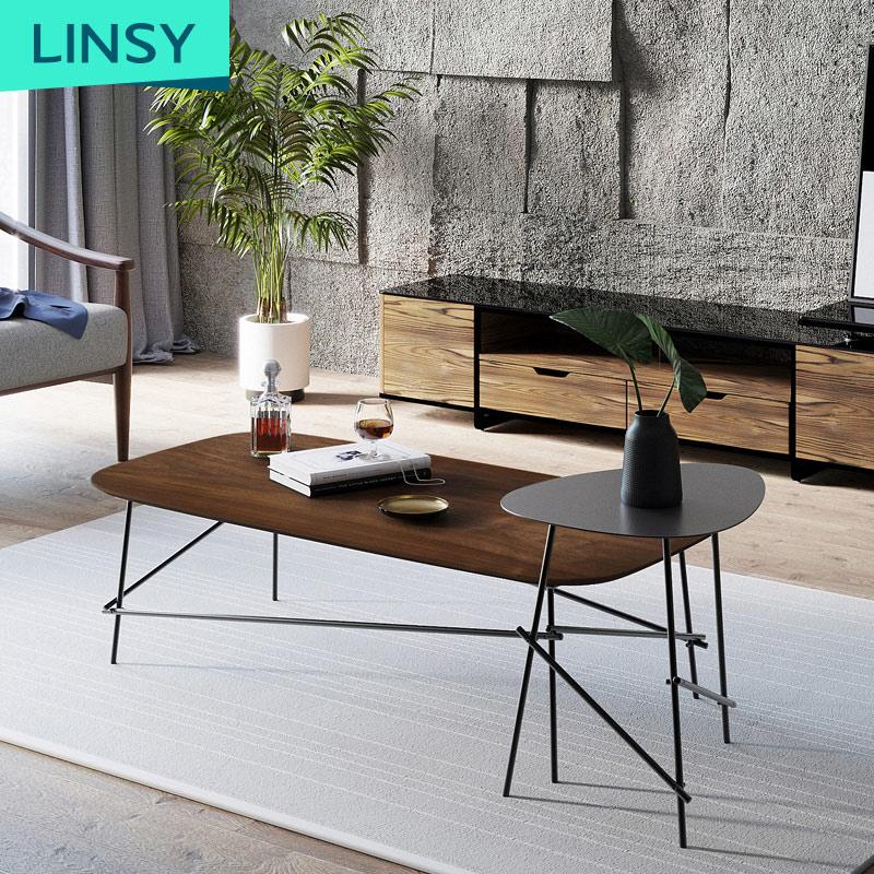 Iron nordic creative tea table small apartment coffee table furniture