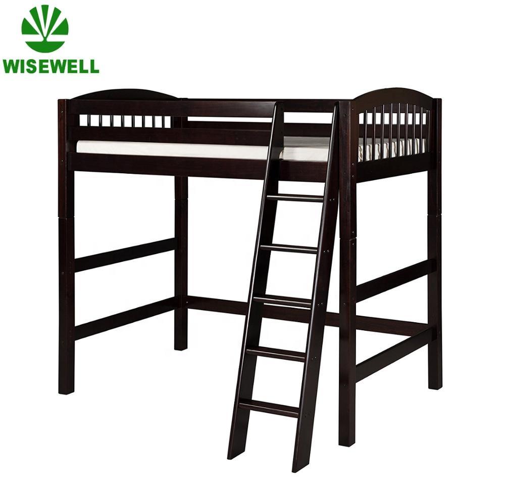 W-JZ-B732 wood bedroom furniture kids bunk bed