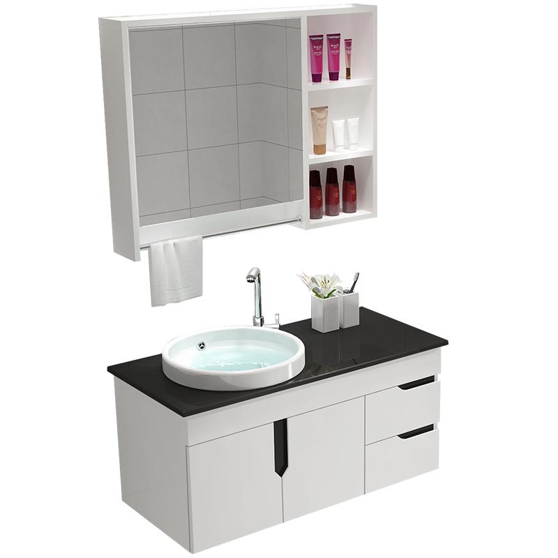 Made In China Waterproof Acrylic Bathroom Cabinet PVC