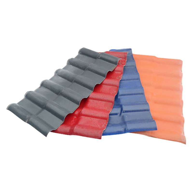 Gold supplier China tile synthetic resin roofing tile villa roof tile