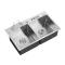 Factory Double Bowl Stainless Steel Sponge Holder for Kitchen Standard Size Fancy Kitchen Sink