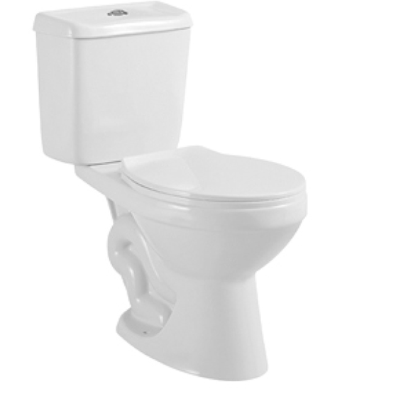 Cheap Washdown Africa Market WC Bathroom Sanitary Ware Two Piece Toilet H-414