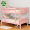 WJZ-B89 solid pine wood children bunk bed