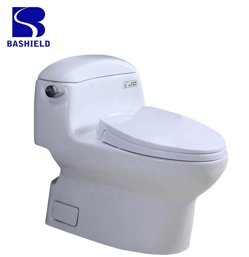 BM-988GB high quality luxury bathroom one piece toilet set factory price Siphonic jet flushing saving water toilet water closet