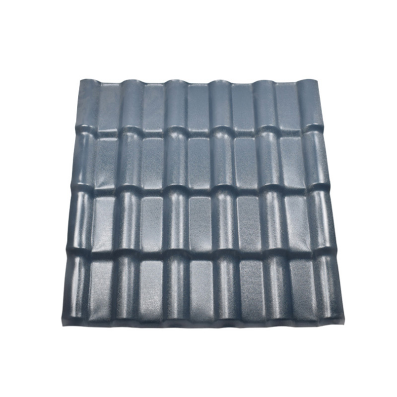 new type Synthetic resin roofing tile/ASA roof tile/ASA pvc plastic roofing tiles