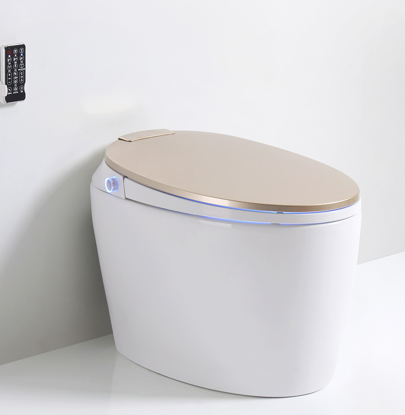 11 intelligent and smart toilet with remote control with heating/sensor flushing/sensor cover