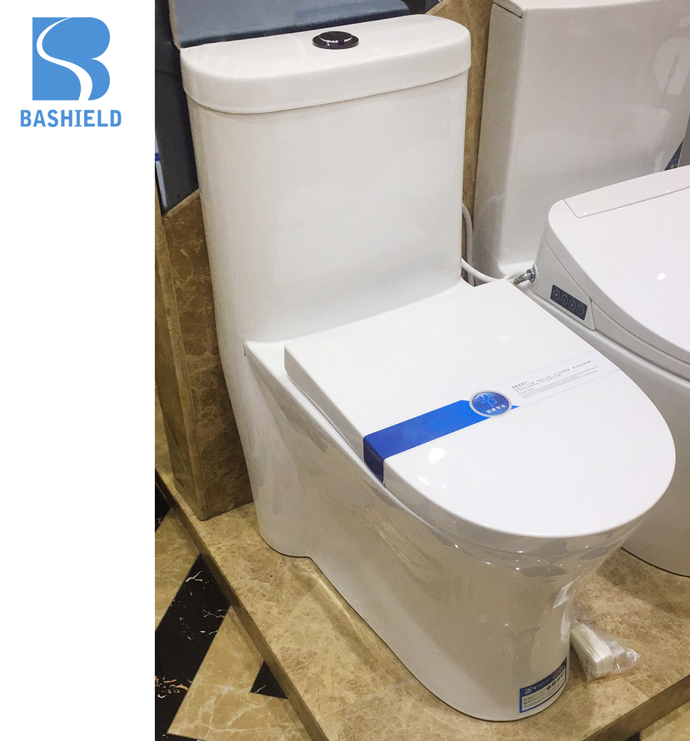 A-6852 Bathroom Ceramic Sanitary Ware,Toilet Siphonic One Piece Arabic water closet