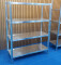 heavy duty stainless steel kitchen four layer adjustable shelf with strong support