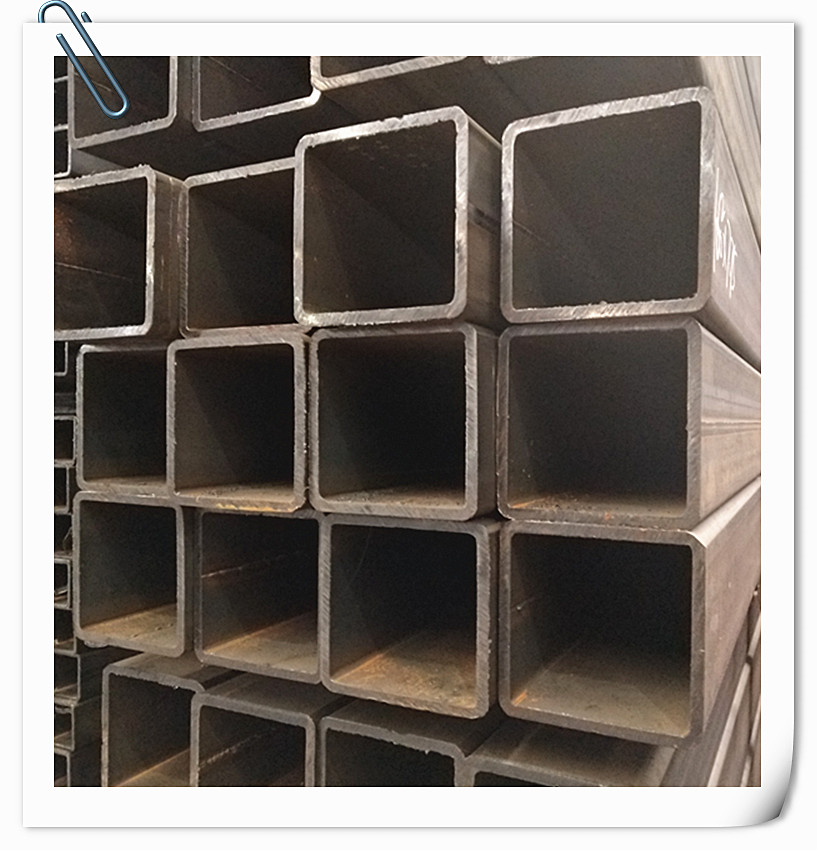 180*100 Q345B Rectangle Decorative ms Square Steel Pipes Thick Wall Pipe Weight