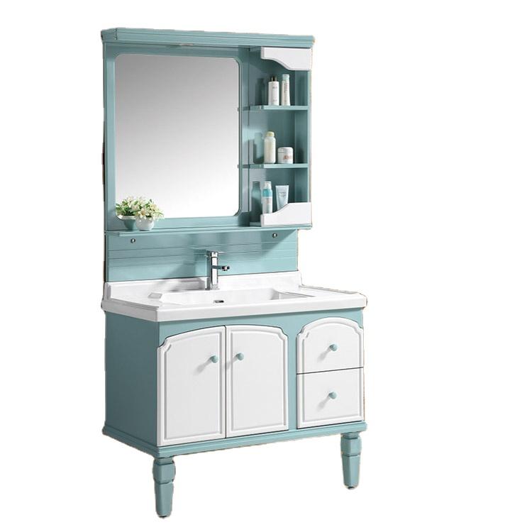 Chinese Used Modern Design PVC Bathroom Vanities Cabinets