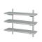 Wall Shelf Brackets Vegetable Rack/Stainless Steel Storage Kitchen Shelf