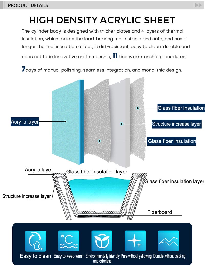 Best Heart-shaped Freestanding Home Acrylic Bathtubs TW-7660.jpg