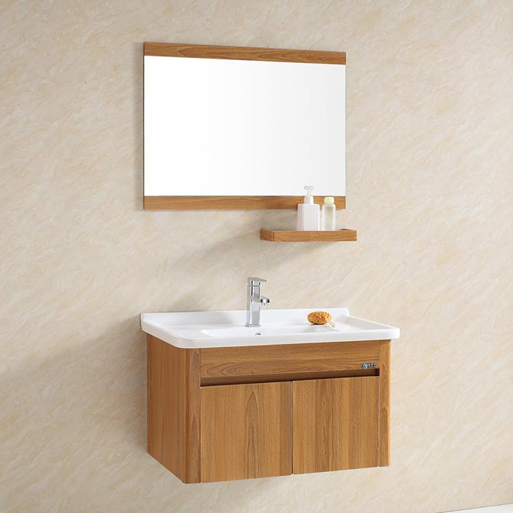 Modern Waterproof Stainless Steel wall bathroom sink cabinets