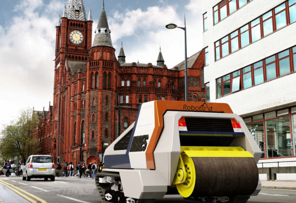 In the UK, researchers push on with efforts to develop autonomous vehicles that repair potholes
