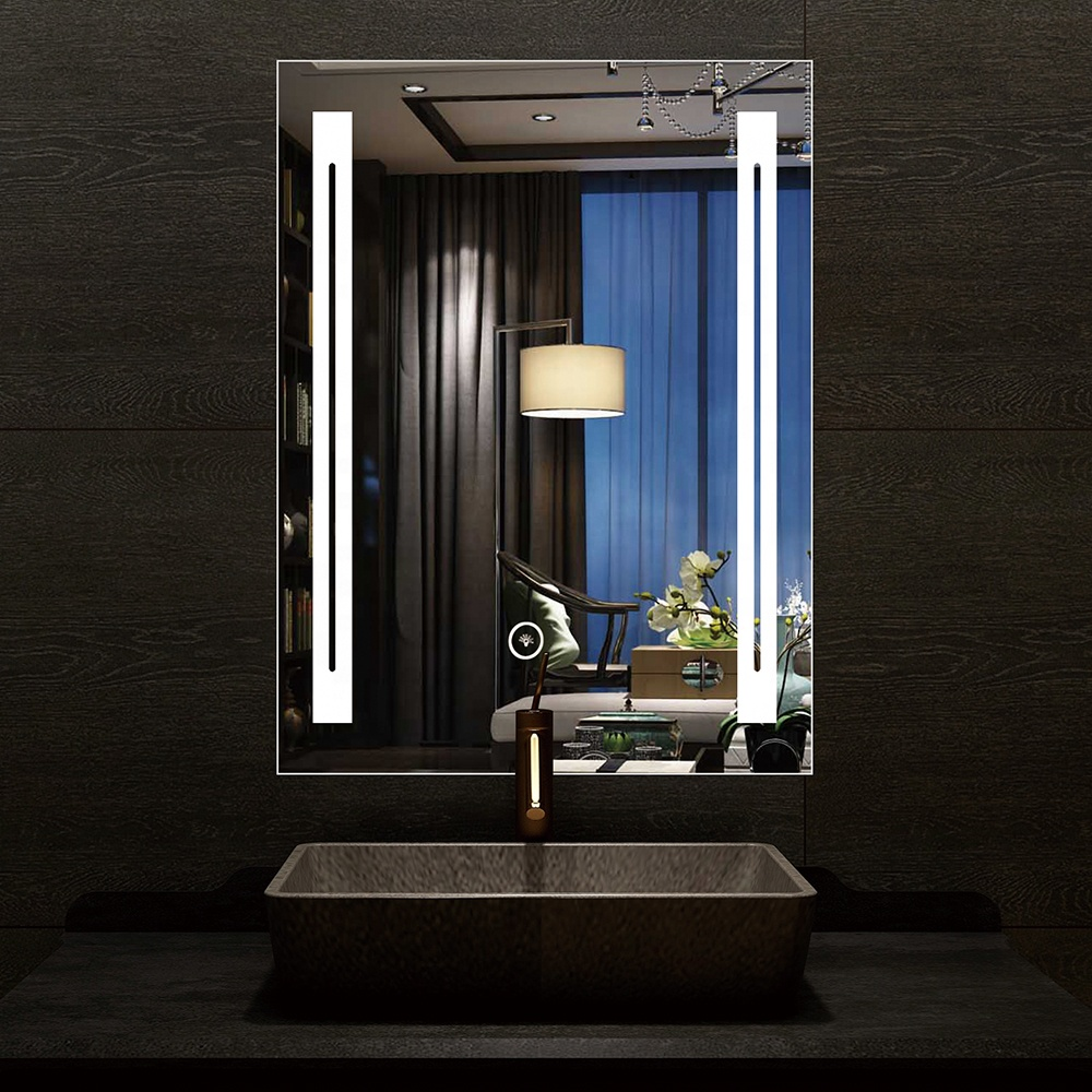 New modern style hotel bathroom led mirror with led light