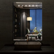 2020 hot selling rectangle hotel led bathroom mirror wholesale price
