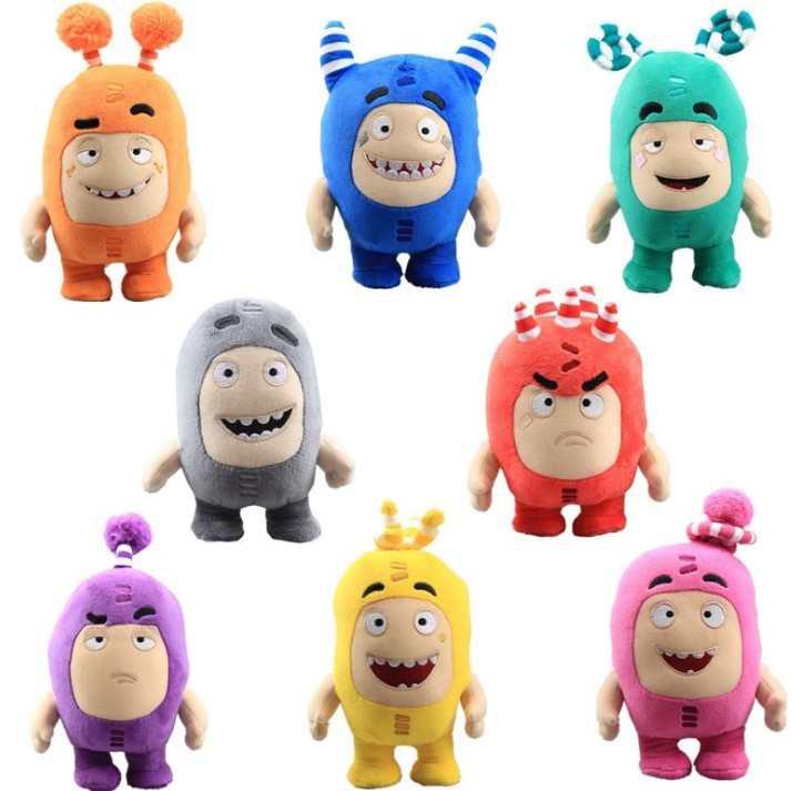 Manufacturer of Custom Multicolor With Different Kinds Emotion Baby Plush Toys Stuffed Doll