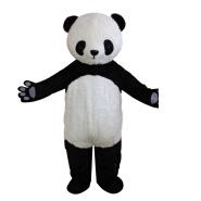 New design panda cartoon character masoct costumes