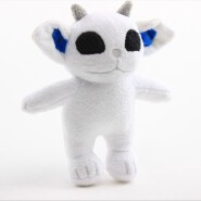 CBRL White ET Plush Stuffed Toys Intelligent Beings Doll With High Quality