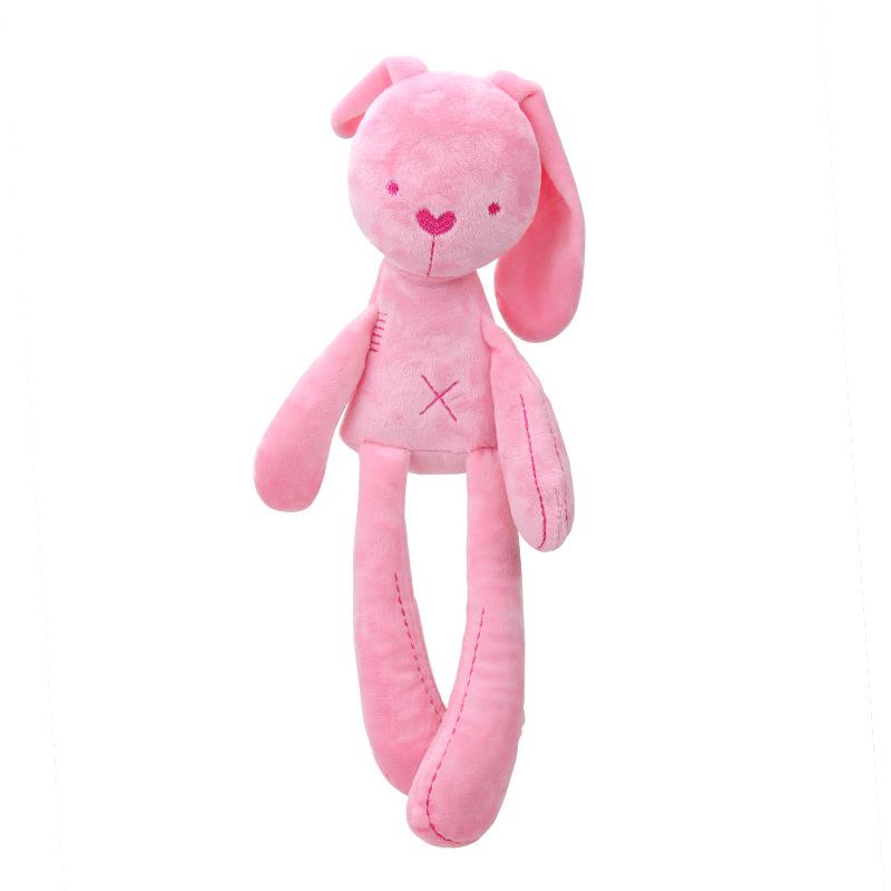 Cute plush long-legged rabbit doll baby Plush Toy Suri with baby comfort sleeping Plush Stuffed Toy Home Decoration