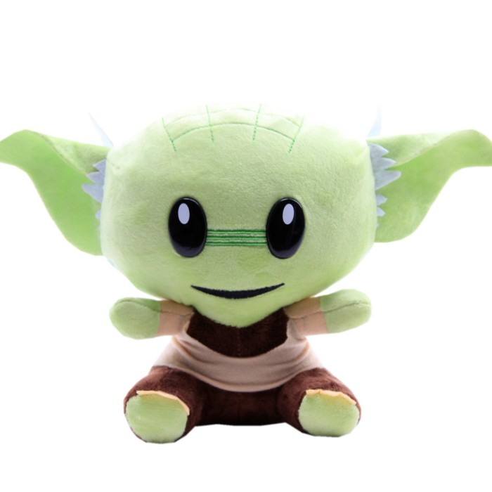 Hot Sale Mini Super BITZ Plush Toy Yoda From Movie, China OEM Cute Plush Dolls
