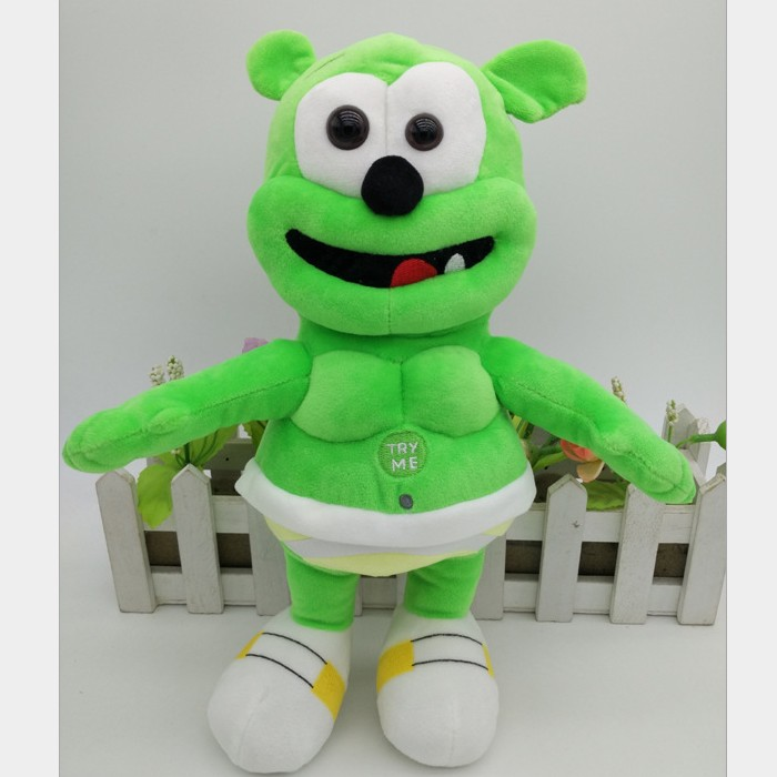 Global Sale Gummy Bear Lovely Child Plush Toys Stuffed Plush Doll