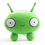 Manufacturer OEM Green Soft Child Plush Toys Custom Cartoon Stuffed Toy