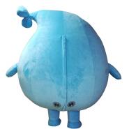 Advertising inflatabales dragon mascot costumes