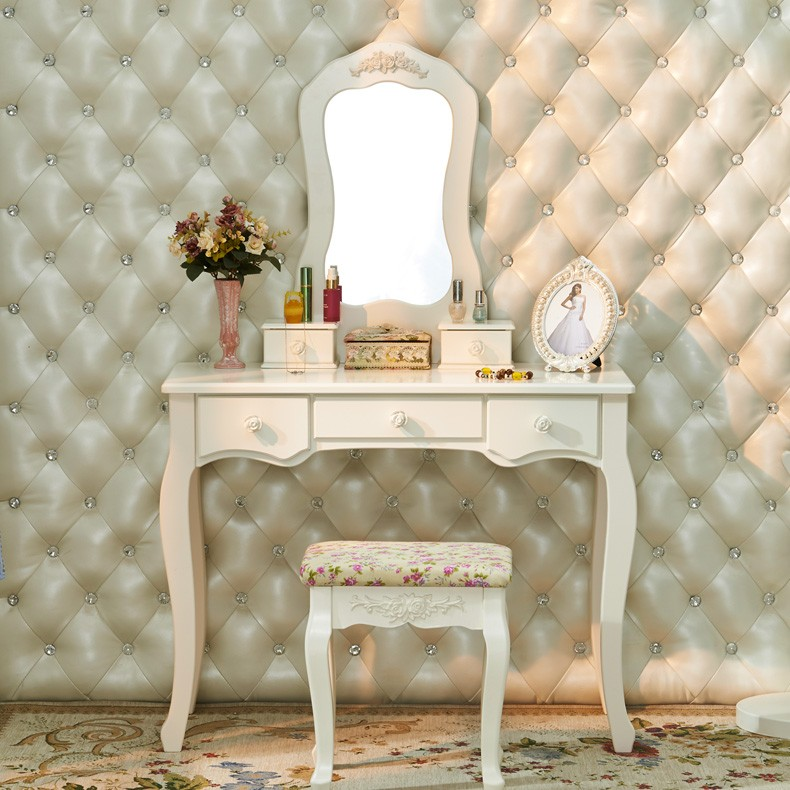 Accept Custom-made Interiors Home Decoration French Country Professional Hotel Makeup Dressing Table