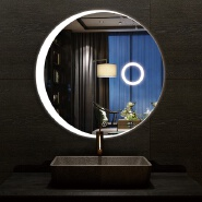 High quality smart illuminated led light makeup mirror with light