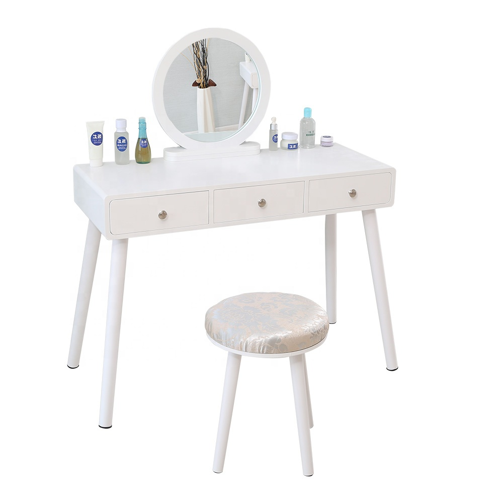 white mirror vanity dressing table makeup with light