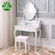 Popular wardrobe designs with almirah solid wooden dressing table
