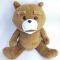 ready stock to ship gift custom big fur fabric teddy bear
