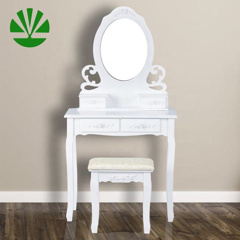 Various type cheap price modern bedroom dressing table with drawers