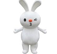 Rabbit cartoon costume walking cartoon costume