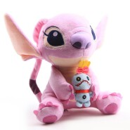 2020 New Design Pink Stitch Plush Toy Soft Stuffed Toys For Kids