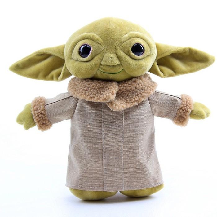 New Yoda Plush Toy With Cloth, Master Yoda Plush Cartoon Stuffed Doll