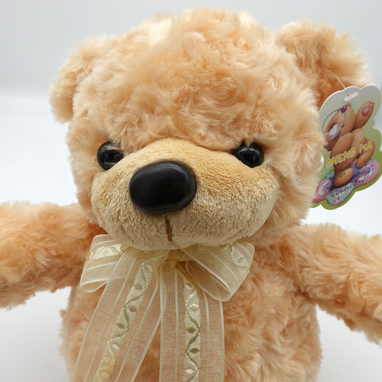 Customized sizes cute soft cotton plush teddy bear toys