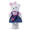 Wholesale price bow plush bear gray bear plush toy plush good stuff toys