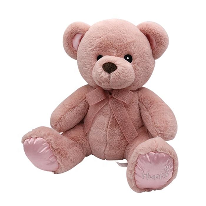 2020 custom buy new soft pink teddy bear plush toys