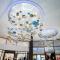 Cheap glass K9 crystal zinc alloy custom luxury hotel lobby Big project chandelier pendant light